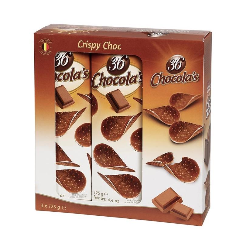 Tuiles au chocolat