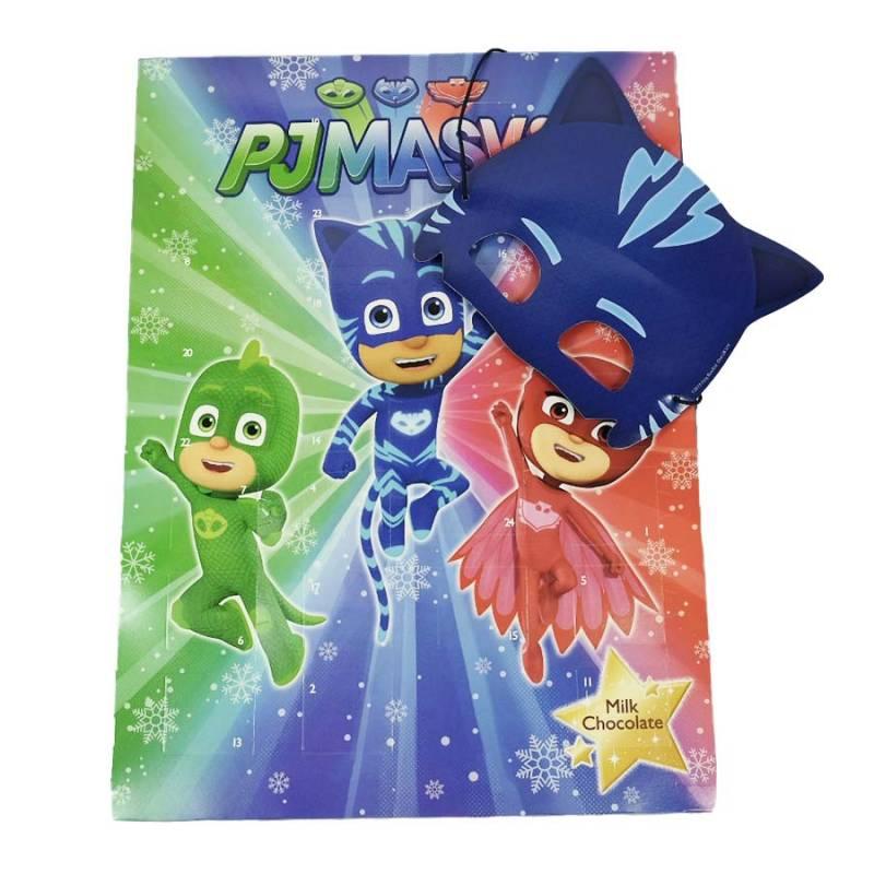 Calendrier de L'Avent Pyjamask + Masque