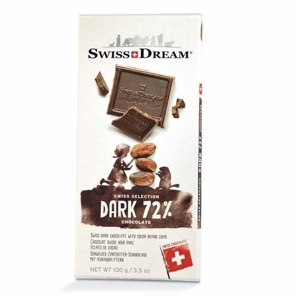 SwissDream Noir 72% 100g