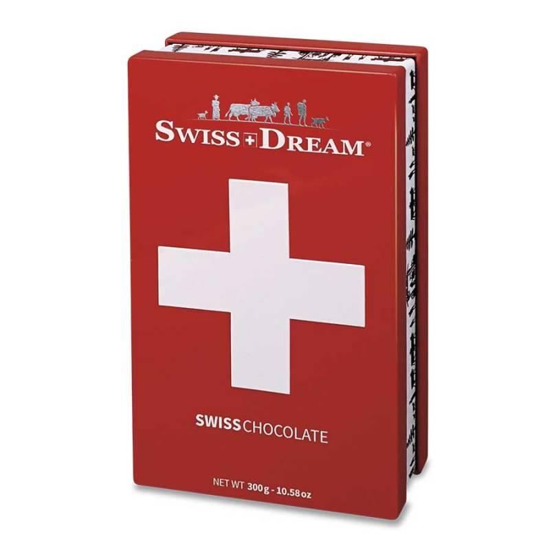 Boîte Métal Chocolats SwissDream 300g