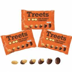 Treets Cacahuètes 3x100g