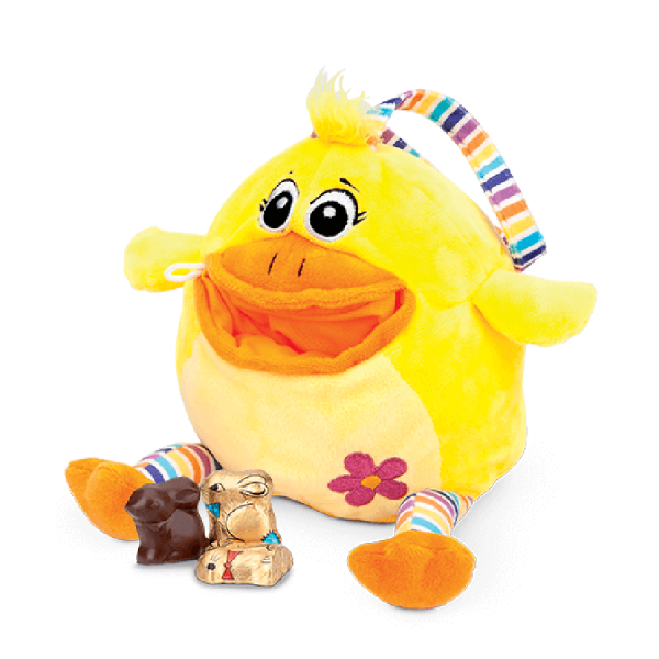 Peluche avec filet de chocolat Ball Bag