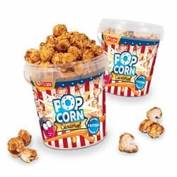 Extra caramel pop corn
