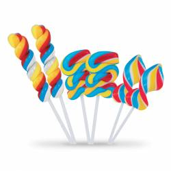 Twisty pop lollipos
