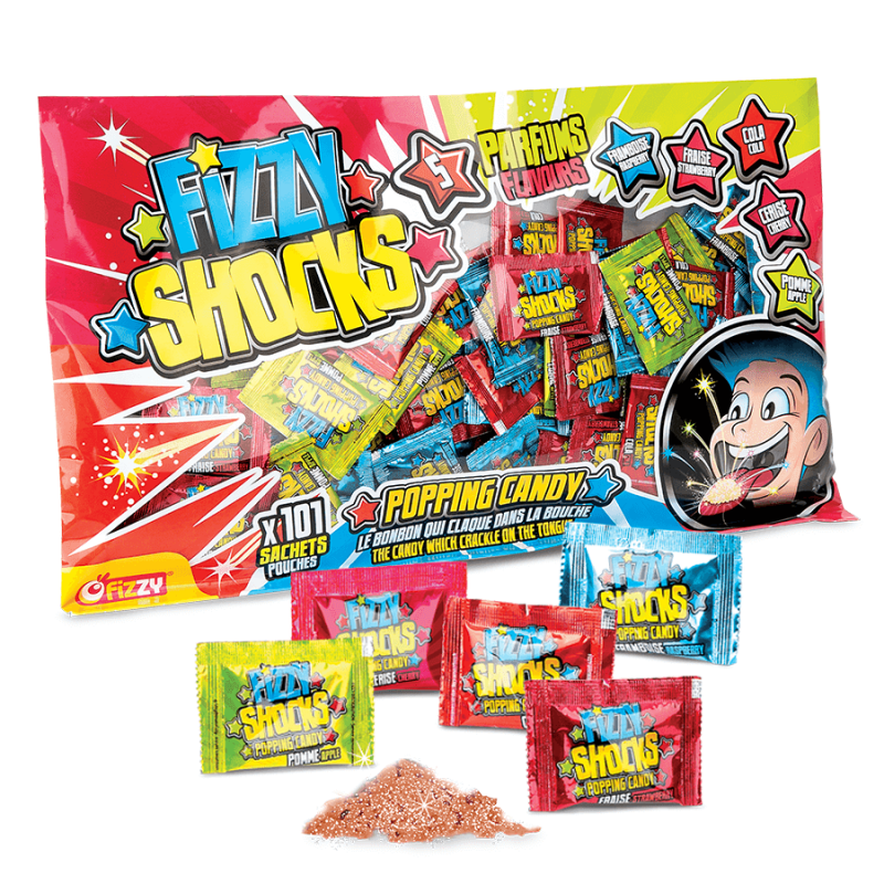 101 Fizzy Shocks - Sachet XXL