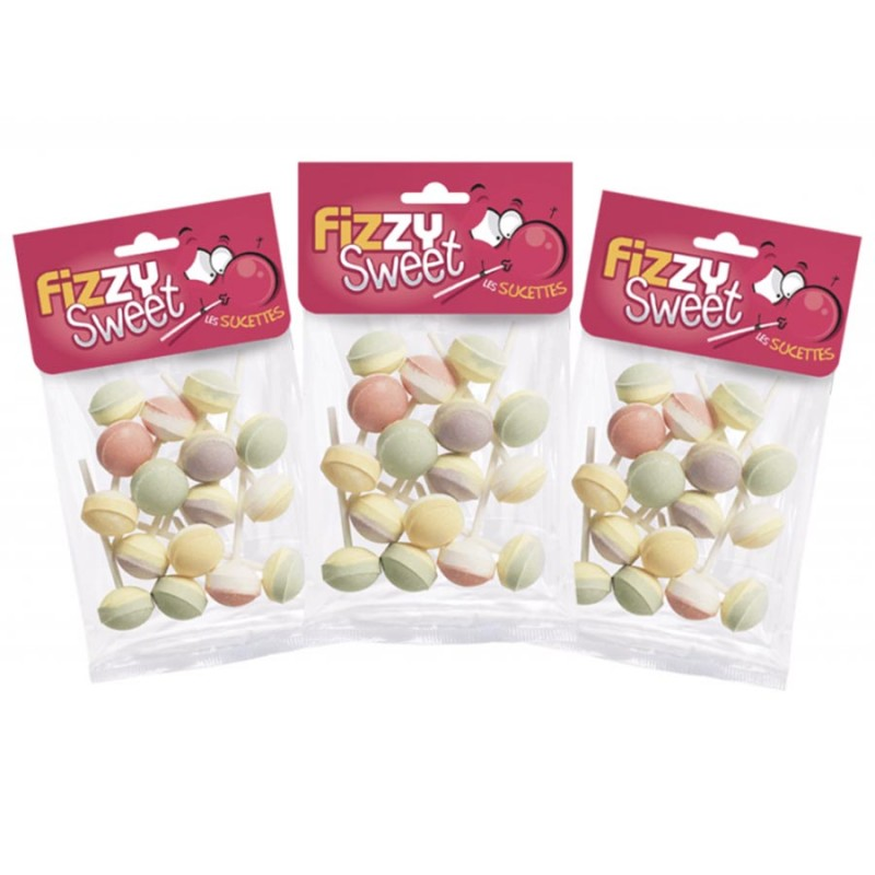 Sucettes Lolita - Fizzy Sweet