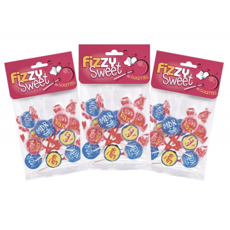Sucettes Rigolotes - Fizzy Sweet