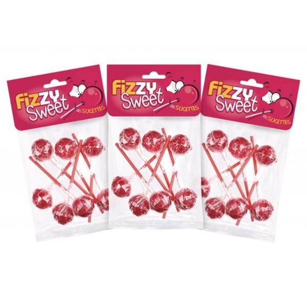 Apple candy lollipops – Fizzy Sweet